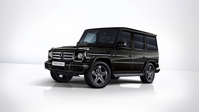 Mercedes-Benz G 350 d Limited Edition - экстерьер