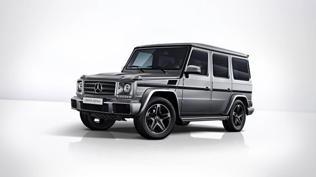Mercedes-Benz G 500 Limited Edition – экстерьер